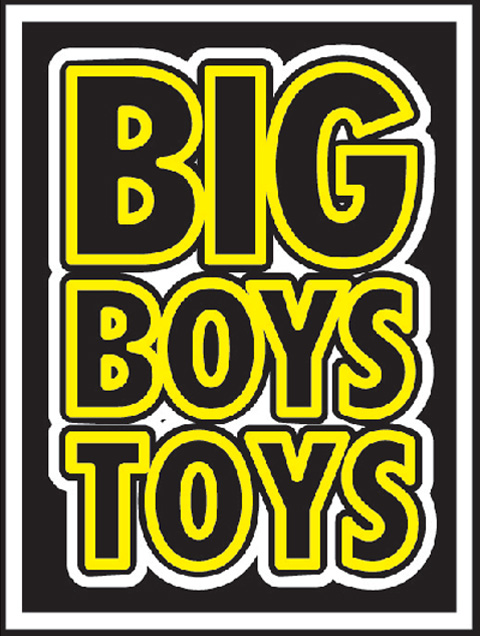 Big Big Toys For Boys : Win tickets to big boys toys getfrank