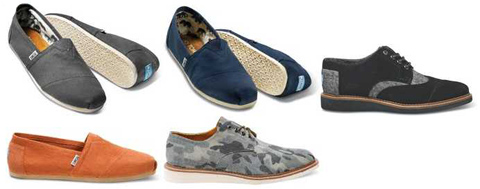 toms stockists