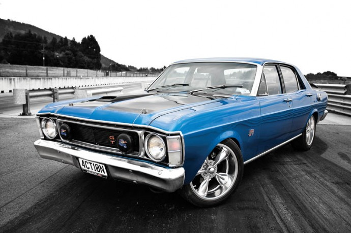 1970 Xw Falcon Gt Replica Action Station