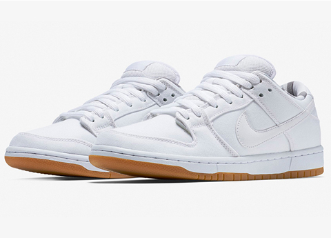 huge selection of 33756 9f4e0 Nike SB Dunk Low Pro White/Gum