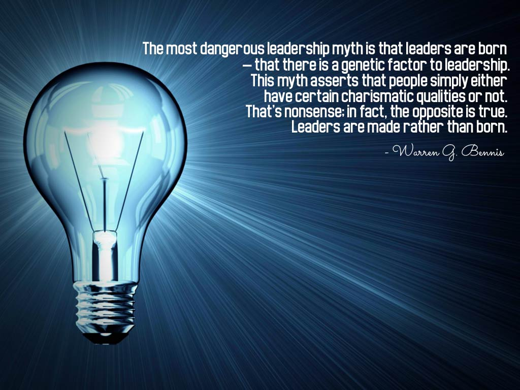 The Most Dangerous Leadership Myth Is That Leaders Are Born That